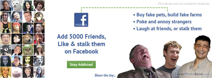 Facebook Ad Mark Meme Funny Facebook Cover