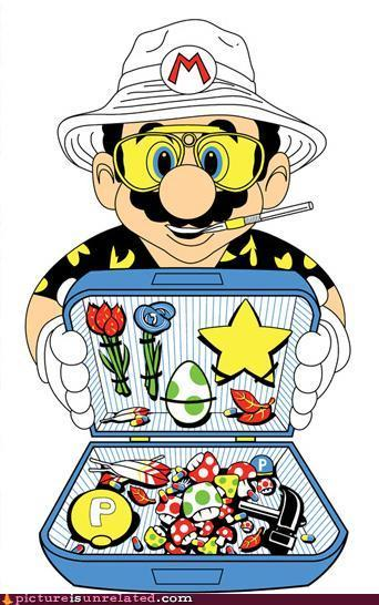 Fear and Loathing in Super Mario World