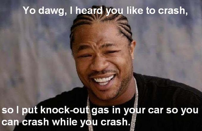 Crash While You Crash