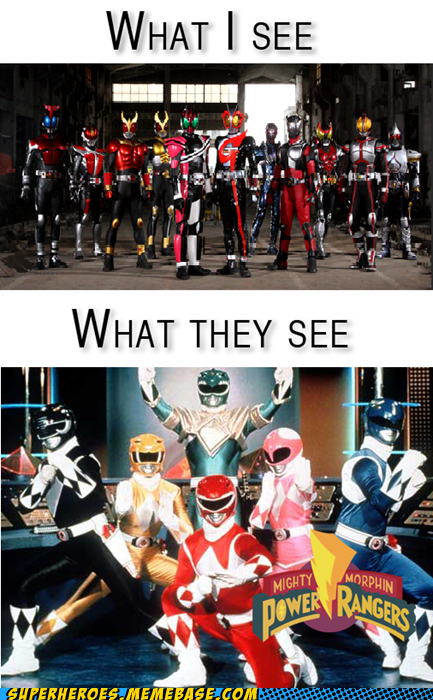 Kamen Rider is not Power Rangers!