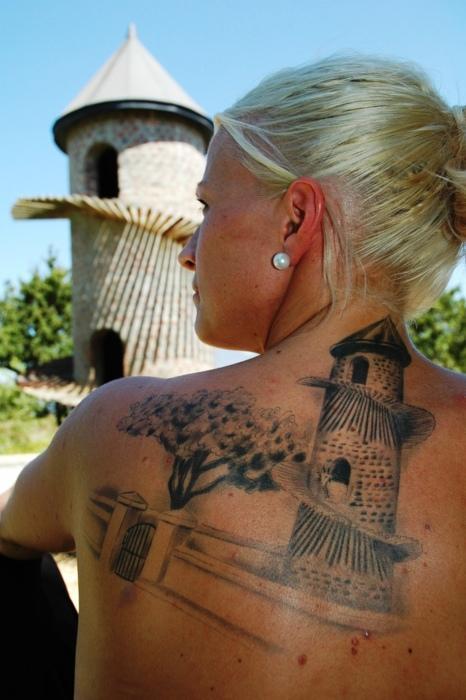 Goat Tower Tattoo