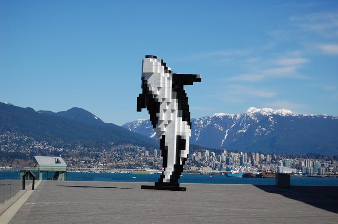 Orca Sculpture