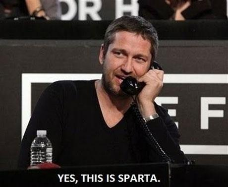 Yes this is Sparta