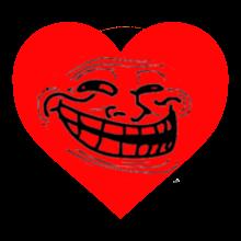 Trollololed Love Heart