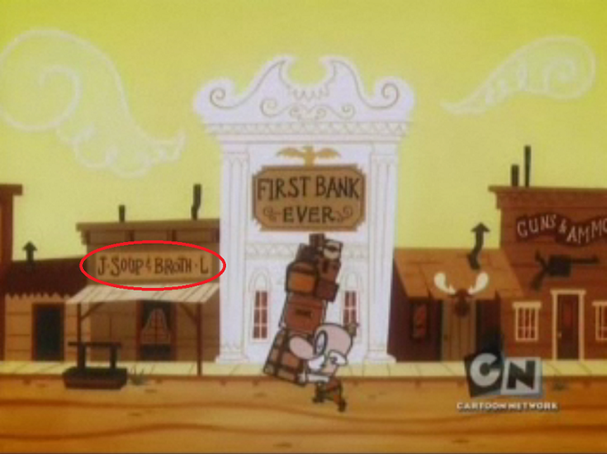 From Powerpuff Girls episode 'West in Pieces'