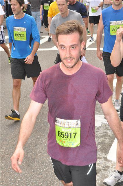 Ridiculously Photogenic Guy After Race