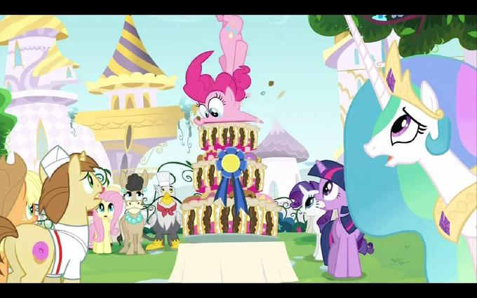 Pinkie Takes the Cake.