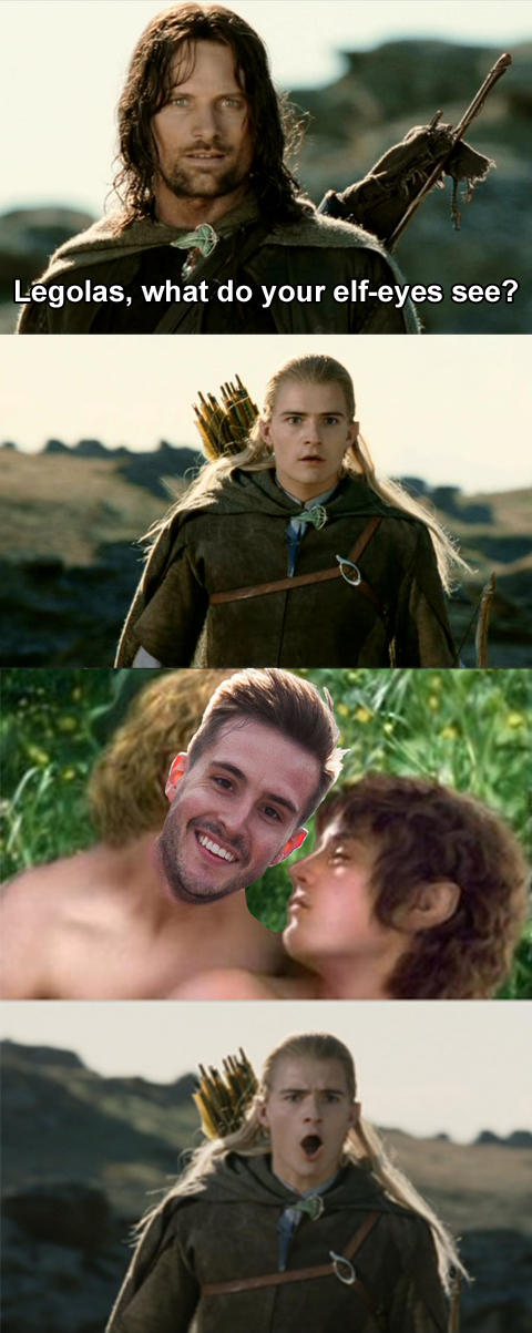 Ridiculously Photogenic Guy in LOTR