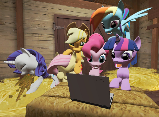 ponies react to rule 34