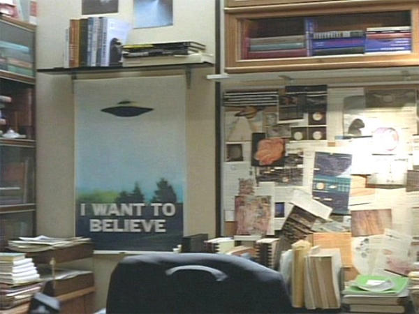 The X-Files, Mulder's Office