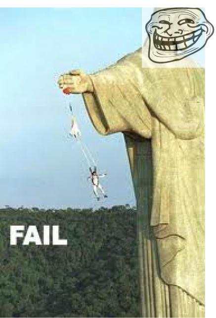 Jesus trolling