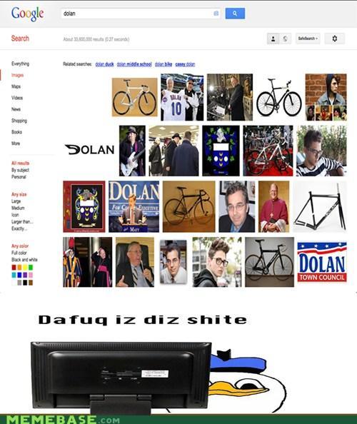 Dolan uses Google Images