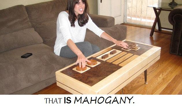 That is mahogany!