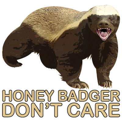 Honey Badger Don't Care
