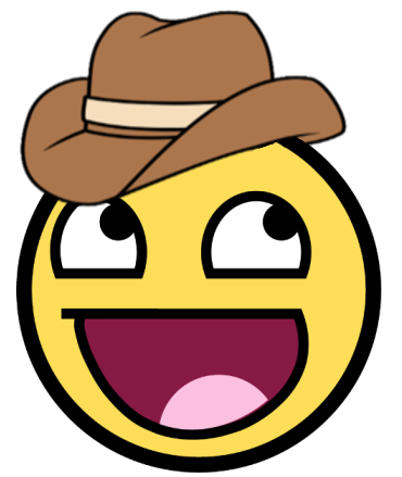 Awesome Cowboy Smiley (Let Him Rip!!!)
