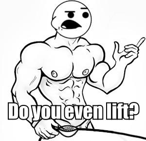 He will never lift