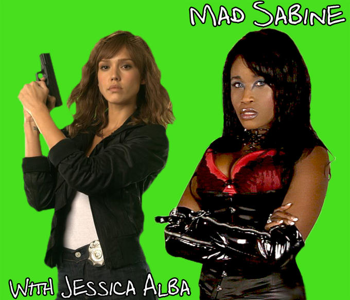 Mad Sabine Mondestin With Jessica Alba
