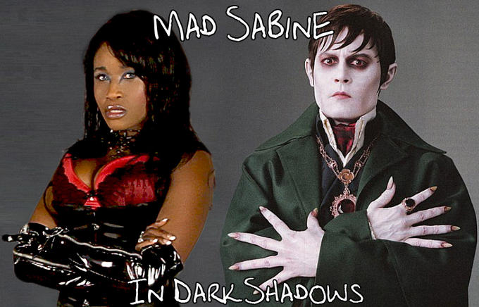 Mad Sabine Mondestin in Dark Shadows