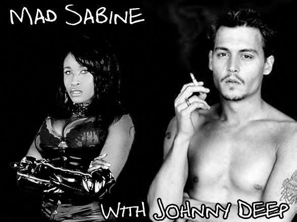 Mad Sabine Mondestin With Johnny Deep