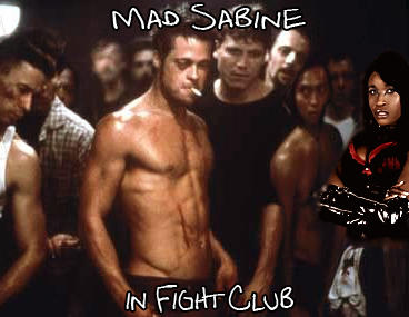 Mad Sabine Mondestin in Fight Club