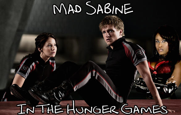 Mad Sabine Mondestin in The Hunger Games