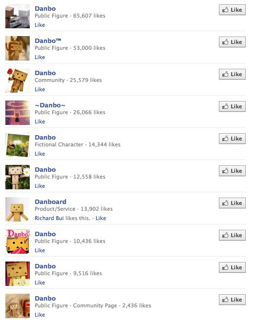 Danbo Facebook groups