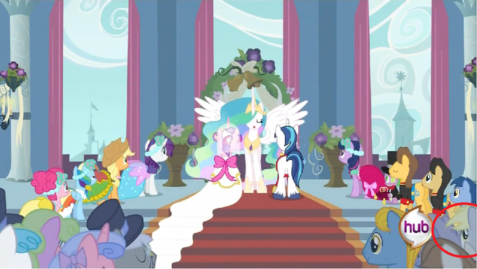 Hidden Derpy Royal Wedding