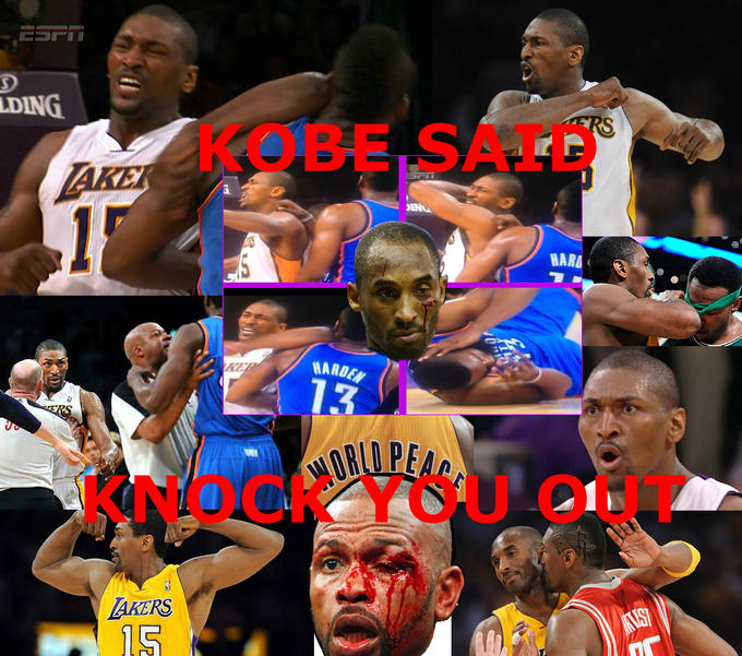 Kobe Said Knock You Out