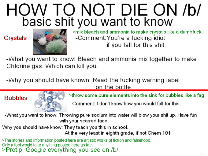 How to not die on /b/