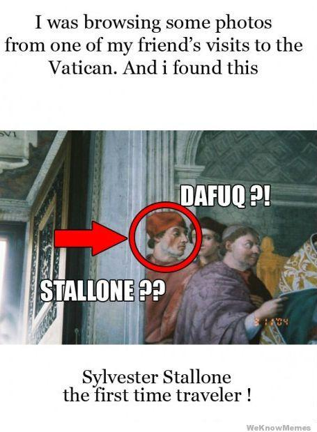Time Travelling Stallone