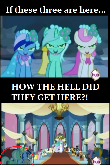 not saying it was changelings, but...