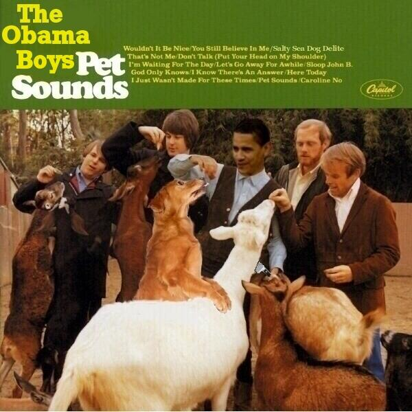 Obama Beach Boys Pet Sounds