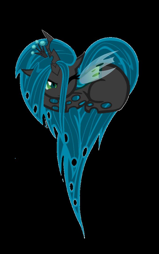 Queen Chrysalis Heart