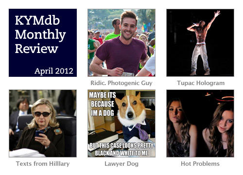 Monthly Review: April 2012