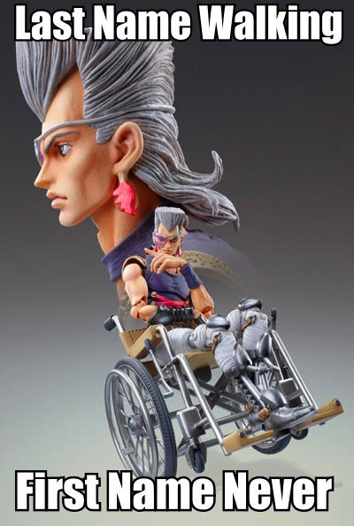 Wheelchair Polnareff