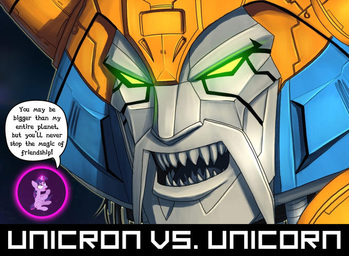 Unicron vs. Unicorn