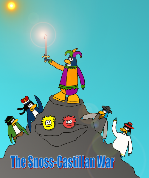 Cover Image for the Longest Story on the Club Penguin Fanon Wiki, the Snoss-Castillan War