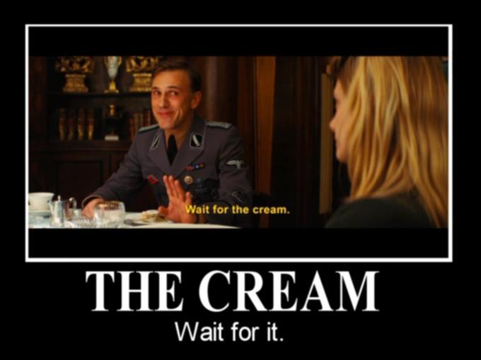 Wait For The Cream