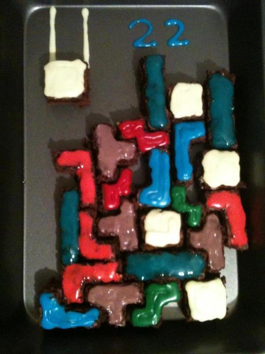 Tetris Brownies