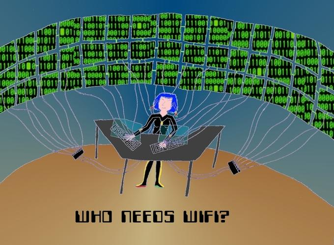 Who needs WIFI?