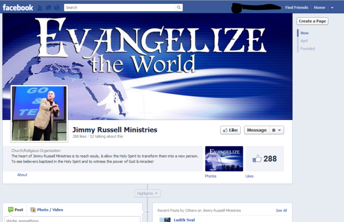 Jimmy Russell Ministries