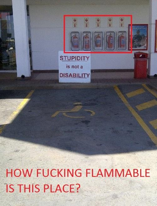 Pretty damn flamable...