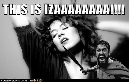 THIS IS IZAAAAAAAA!!!!