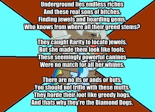 My Little Poetry: Diamond Dog