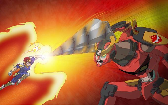 Falcon Punch VS Giga Drill Breaker