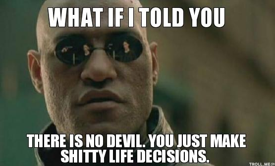 Shitty Decisions Morpheus