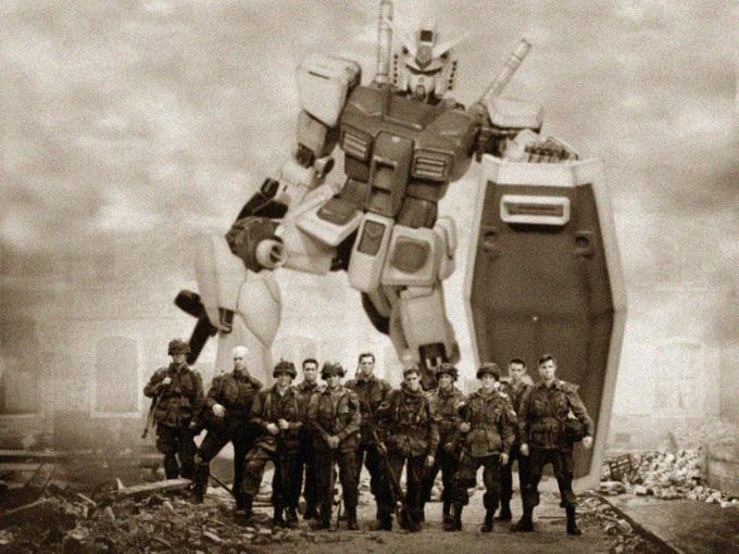 Band of Brothers & Gundam RX-78
