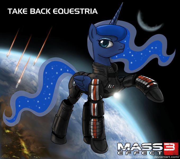 Luna  is best Shepard