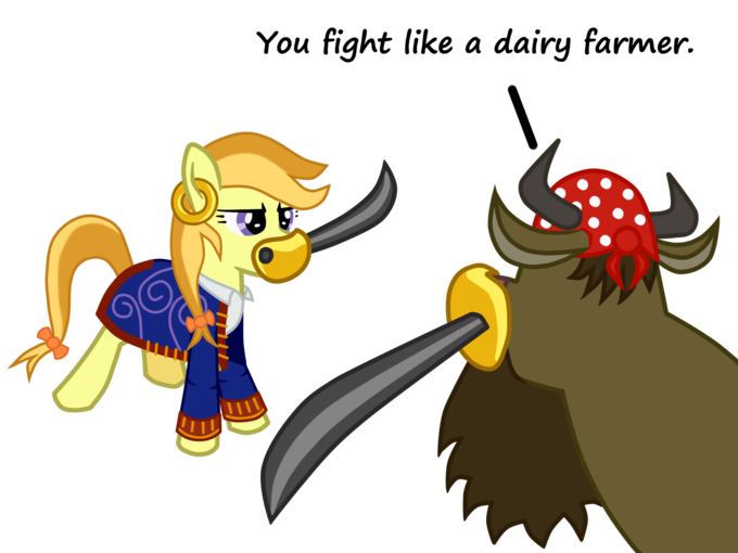Guybrush Threepwood ponified