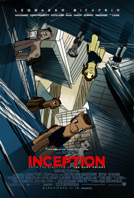 Inception poster ponified